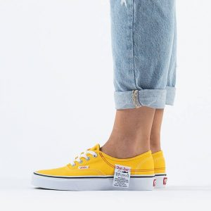 נעליים ואנס לנשים Vans Ua Authentic Hc DIY - צהוב