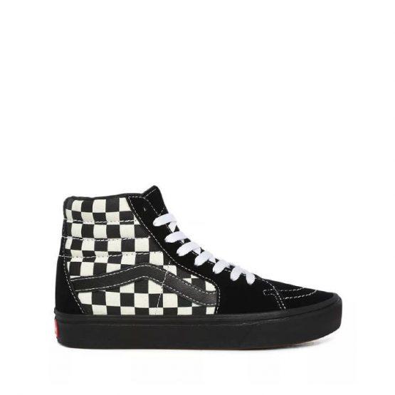נעלי סניקרס ואנס לנשים Vans Ua ComfyCush Sk8-Hi - שחור