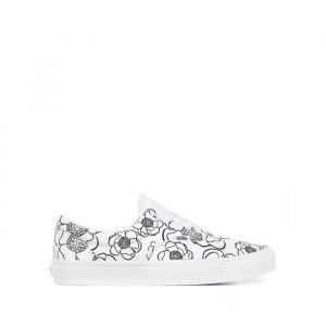 נעלי סניקרס ואנס לנשים Vans Ua Era DIY - לבן
