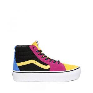 נעליים ואנס לנשים Vans Ua Sk8-Hi Platform 2 - צבעוני