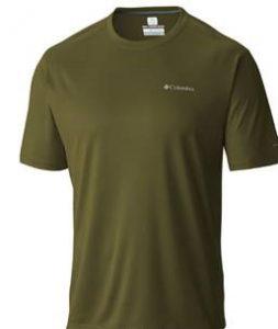 חולצת אימון קולומביה לגברים Columbia Zero Rules - ירוק זית