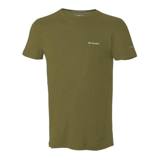 חולצת קולומביה לגברים Columbia Coolest Cool II - ירוק זית