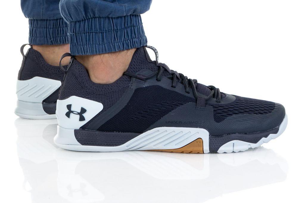 נעלי אימון אנדר ארמור לגברים Under Armour TRIBASE REIGN 2 - כחול כהה
