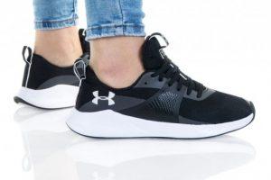 נעליים אנדר ארמור לנשים Under Armour CHARGED AURORA - שחור/לבן