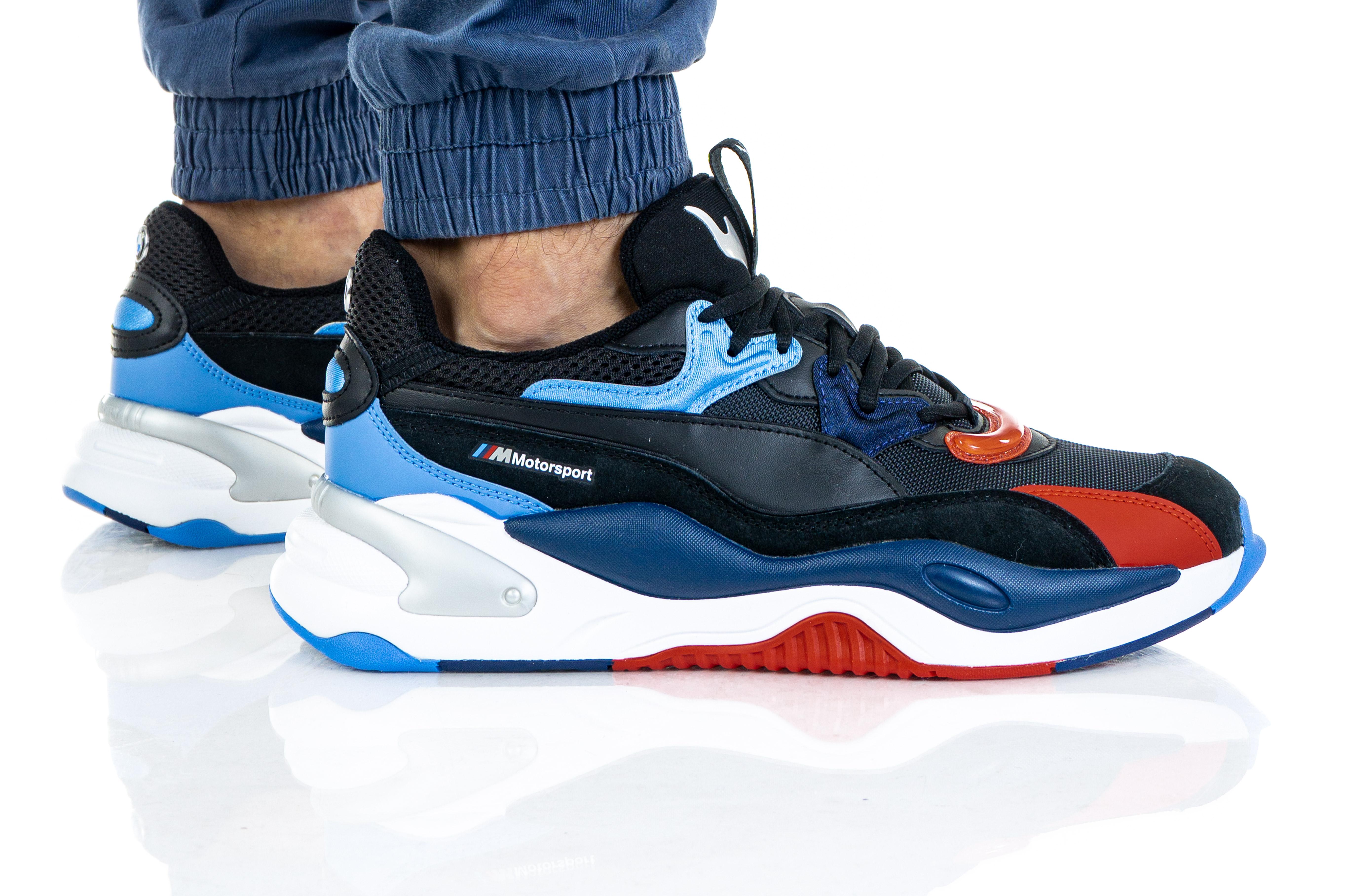 נעליים פומה לגברים PUMA BMW MMS RS-2K - צבעוני כהה