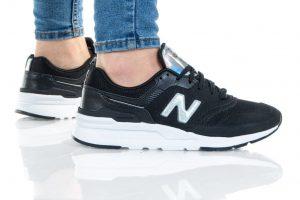 נעלי סניקרס ניו באלאנס לנשים New Balance CW997 - שחור/כסף