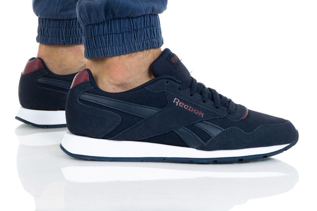 נעלי סניקרס ריבוק לגברים Reebok ROYAL GLIDE - כחול/אדום