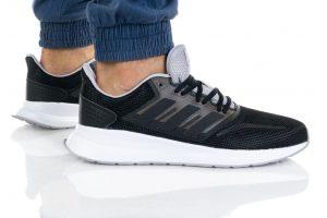 נעליים אדידס לגברים Adidas RUNFALCON - שחור פחם