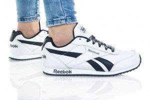 נעלי סניקרס ריבוק לנשים Reebok ROYAL CLJOG 2 - לבן הדפס