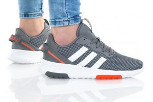 נעלי ריצה אדידס לנשים Adidas RACER TR 2.0 K - אפור כהה