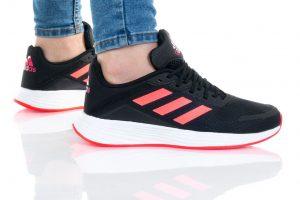 נעלי סניקרס אדידס לנשים Adidas DURAMO SL K - שחור/אדום