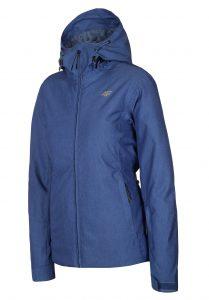 ג'קט ומעיל פור אף לנשים 4F winter jacket - כחול