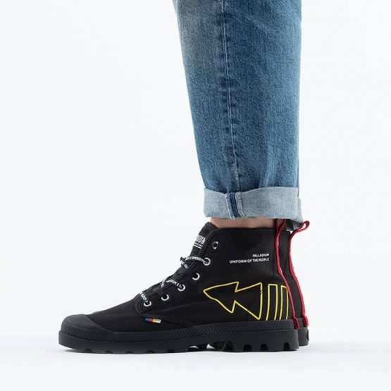נעליים פלדיום לגברים Palladium Pampa Dare Rew FWD - שחור