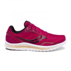נעליים סאקוני לנשים Saucony KINVARA 11 - אדום יין