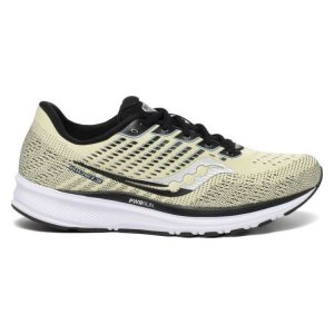 נעלי ריצה סאקוני לגברים Saucony RIDE 13 - צהוב בהיר
