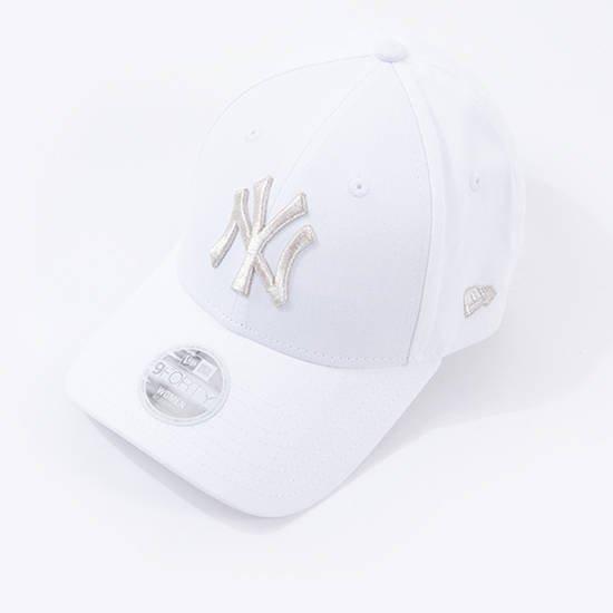כובע ניו ארה לגברים New Era 9Forty New York Yankees - לבן