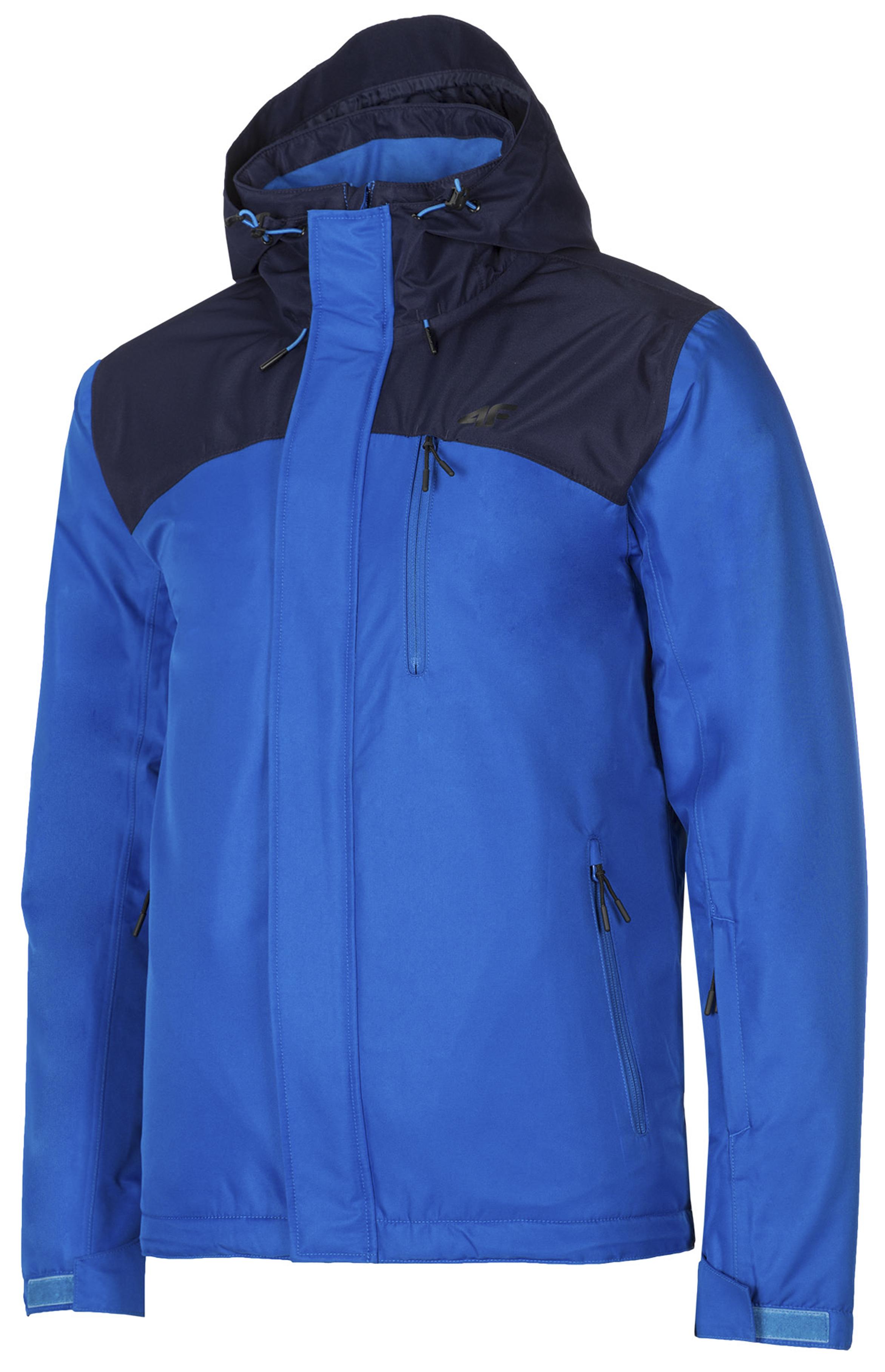 ביגוד פור אף לגברים 4F Ski Jacket - כחול