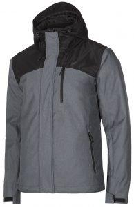 ג'קט ומעיל פור אף לגברים 4F Ski Jacket - אפור