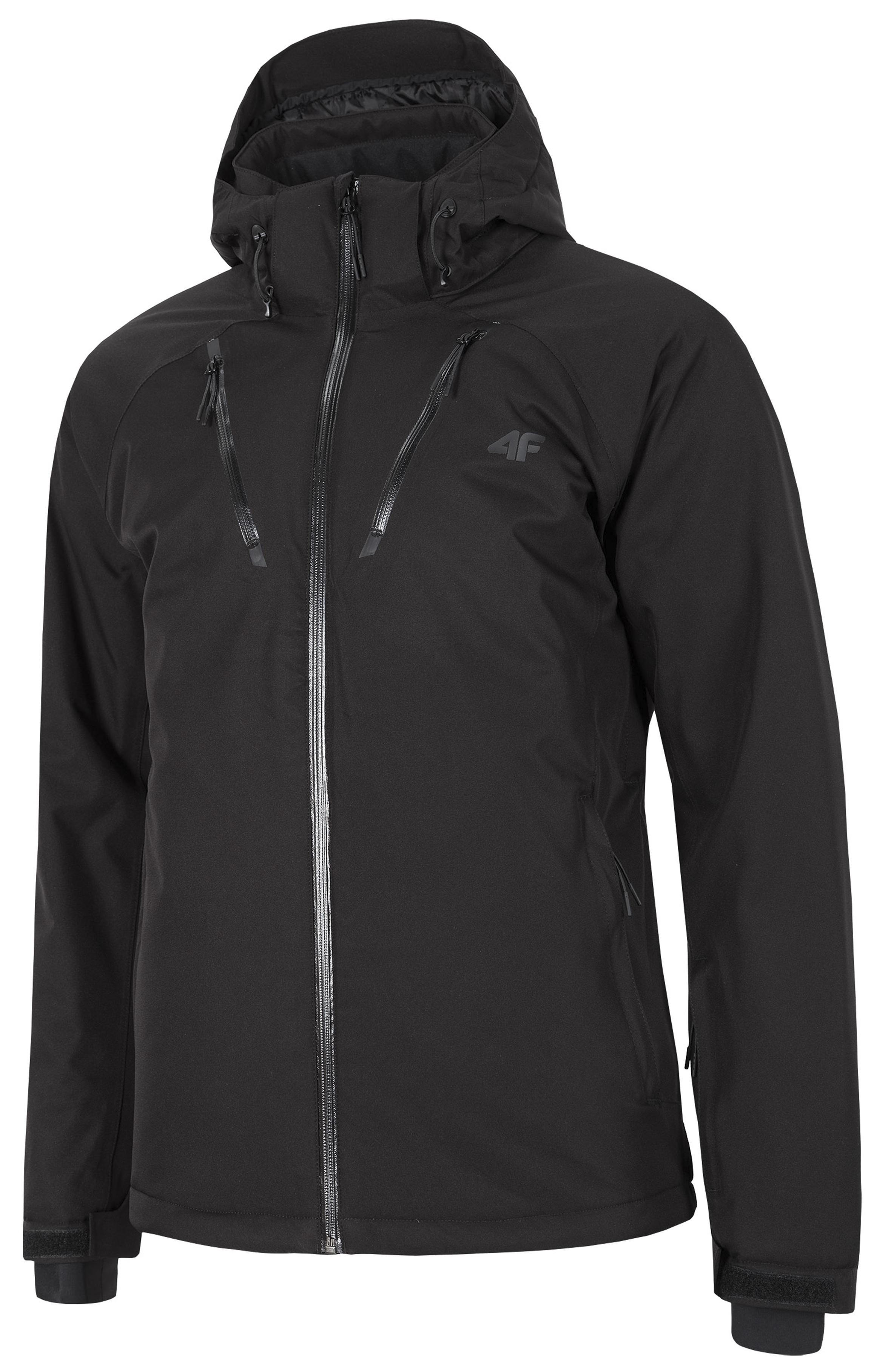 ביגוד פור אף לגברים 4F waterproof ski jacket - שחור