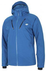 ג'קט ומעיל פור אף לגברים 4F waterproof ski jacket - כחול