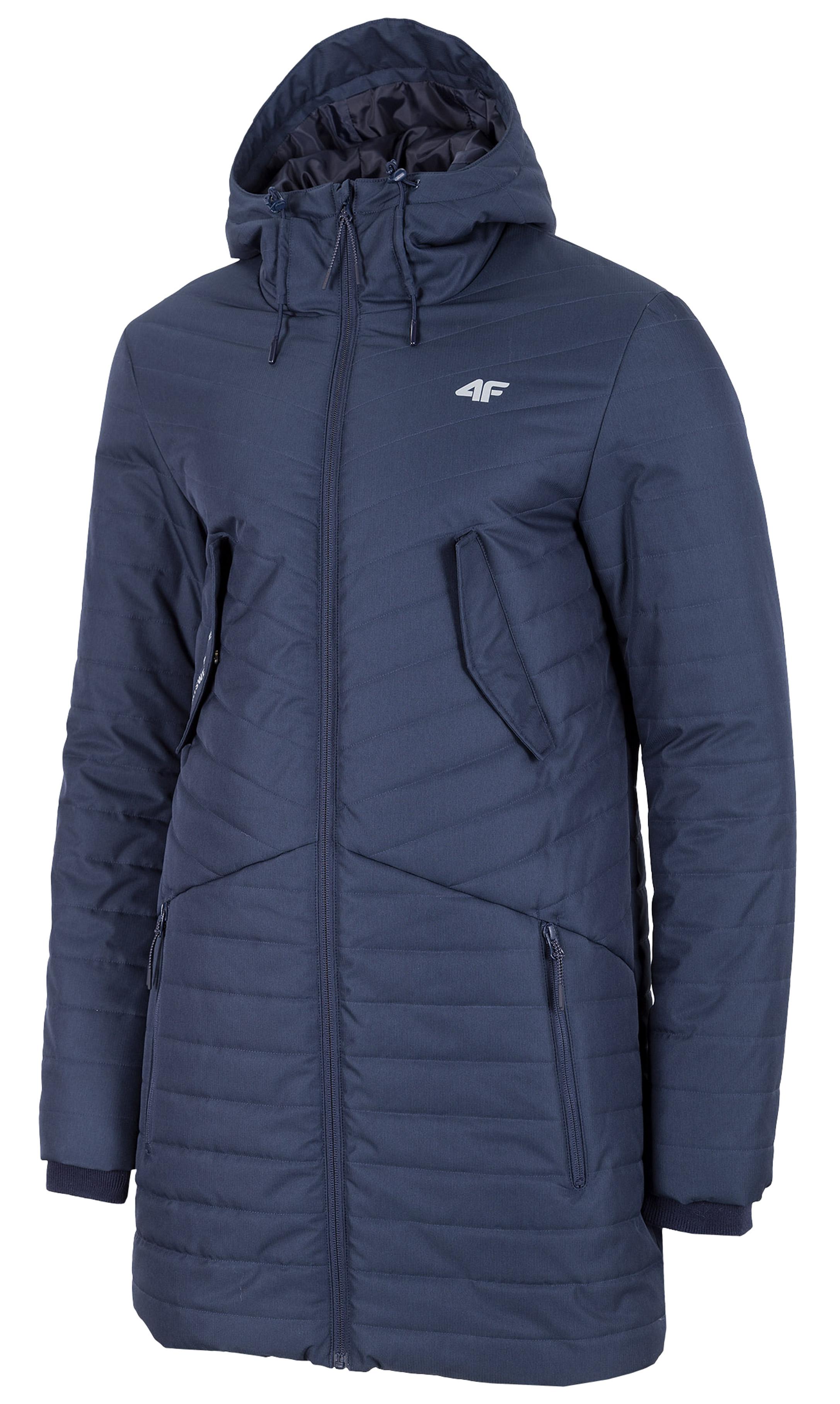 ג'קט ומעיל פור אף לגברים 4F winter jacket - כחול