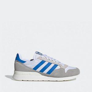 נעלי סניקרס אדידס לגברים Adidas Originals Zx 500 - לבן/ כחול