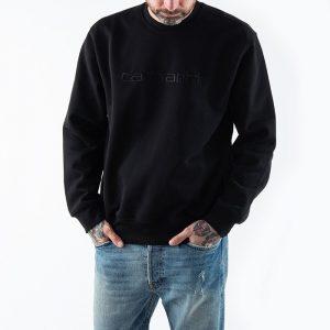 ביגוד קארהארט לגברים Carhartt WIP Sweatshirt - שחור