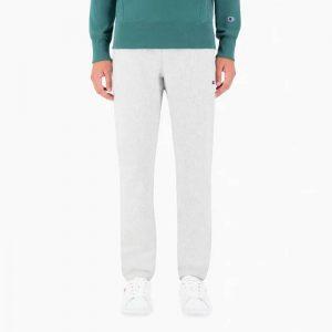 ביגוד צ'מפיון לגברים Champion Elastic Cuff Pants - לבן