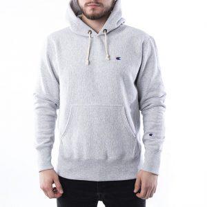 סווטשירט צ'מפיון לגברים Champion Sweatshirt - אפור בהיר