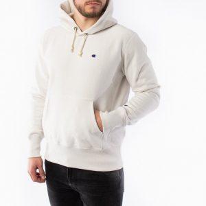 סווטשירט צ'מפיון לגברים Champion Sweatshirt - לבן מלא