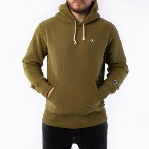 סווטשירט צ'מפיון לגברים Champion Sweatshirt - ירוק זית