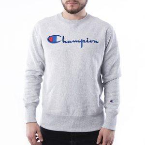 סווטשירט צ'מפיון לגברים Champion Sweatshirt - אפור