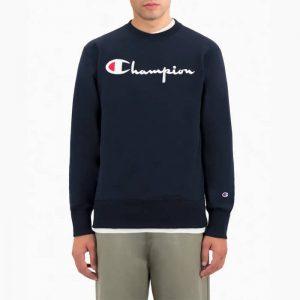 סווטשירט צ'מפיון לגברים Champion Sweatshirt - כחול כהה