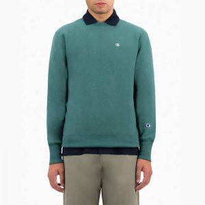 סווטשירט צ'מפיון לגברים Champion Sweatshirt - ירוק