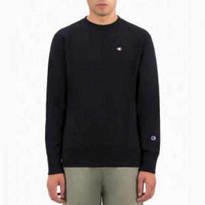 סווטשירט צ'מפיון לגברים Champion Sweatshirt - שחור