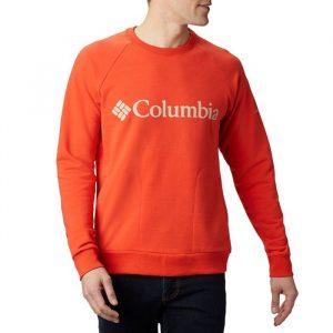 ביגוד קולומביה לגברים Columbia Lodge Crew - כתום