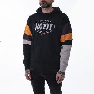 ביגוד קונברס לגברים Converse x Rokit Pullover - שחור