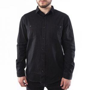ביגוד Edwin לגברים Edwin Labour Shirt LS - שחור