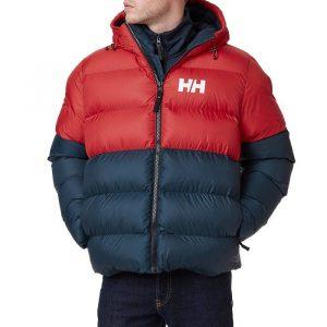 ביגוד הלי הנסן לגברים Helly Hansen Active Puffy Jacket - אדום