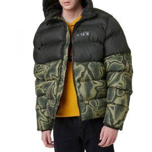 ביגוד הלי הנסן לגברים Helly Hansen Active Puffy Jacket - שחור/ירוק