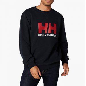 ביגוד הלי הנסן לגברים Helly Hansen Logo Crew - שחור