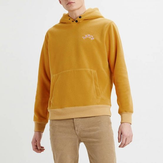 ביגוד ליוויס לגברים Levi's Polar Fleece - צהוב