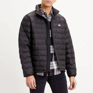 ביגוד ליוויס לגברים Levi's Presidio Packable Jacket - שחור