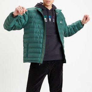 ביגוד ליוויס לגברים Levi's Presidio Packable Jacket - ירוק