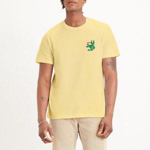 ביגוד ליוויס לגברים Levi's Relaxed Desert Graphic - צהוב