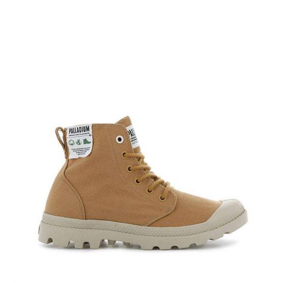 נעליים פלדיום לגברים Palladium Pampa Hi Organic Earth Collection - חום