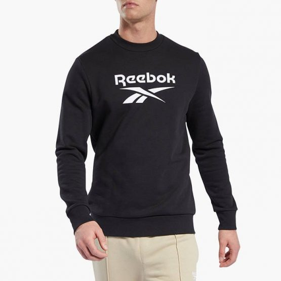 ביגוד ריבוק לגברים Reebok Classics Vector Crew - שחור