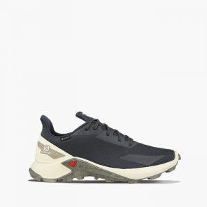 נעליים סלומון לגברים Salomon Alphacross Blast Gore-Tex - אפור