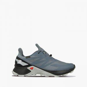 נעלי ריצת שטח סלומון לגברים Salomon Supercross Blast GTX Gore-Tex - אפור