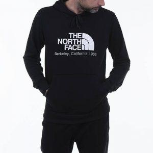 ביגוד דה נורת פיס לגברים The North Face Berkeley California - שחור